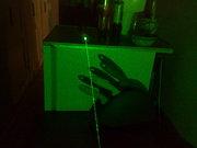 Зеленый лазер высокой мощности (portatip green laser) 200mBT